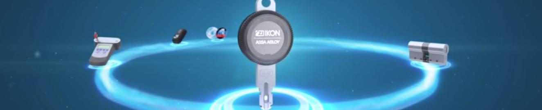 zamki elektroniczne IKON klucze